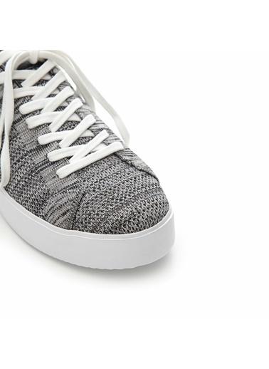 Yargıcı Kadın Kumaş Spor Ayakkabı 7YKAY4045X Gri